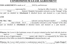 Condo Rental Agreement Template 9 Vacation Rental Agreement Free ...