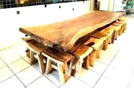 rustic solid wood dining table sets is furniture real fabulous trestle