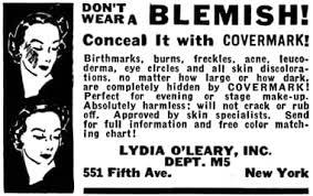 1935 lydia o leary covermark cream