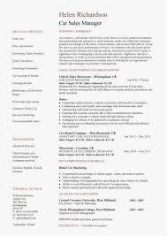 Sample Resume For Car Salesman Amazing Car Sales Resume Photo 44 Best Cv S Images On Pinterest Best Resume