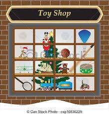 store window clipart. Plain Clipart Clip Art Toy Shop  Toy Shop Window At Christmas With Train Soldier  Drum Airplane  With Store Clipart T