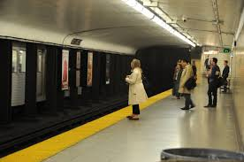 photo essay commute krysten mccumber a w anxiously awaits the subway by herself at royal york station photo by