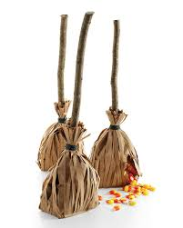 cinnamon broom decorating ideas witchs broomstick favors martha stewart
