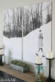 remodelaholic 60 budget friendly diy large wall decor ideas regarding large inexpensive wall art