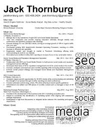 Seo Manager Resume Best Sample Free Examples Compare Writing