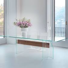 glass and wood dining table. Doge Glass Dining Table By Sovet Italia - Klarity Furniture And Wood