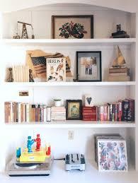 Bookshelf Arrangement A Great Spring Spruce Up