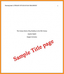 Sample Apa Cover Page 12 13 Apa Format Cover Page Sample Southbeachcafesf Com