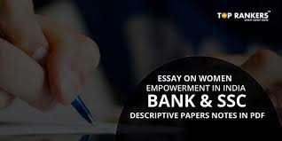 on women empowerment in for bank and ssc descriptive papers essay on women empowerment in for bank and ssc descriptive papers