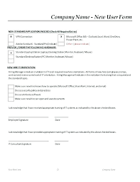 Employee New Hire Forms Free Employee Record Form On Free Employment Application Template Word 8