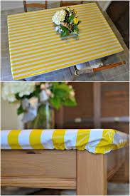 elasticed wipeable tablecloth