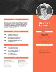 Canva Resume Inspiration Customize 60 Modern Resume Templates Online Canva