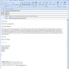 How To Email A Resume And Cover Letter Attachment Cover Email Email