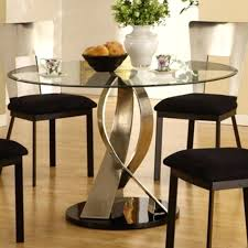 glass top tables with metal base dining tables astonishing glass top dining table sets round glass