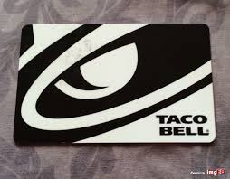 taco bell gift card balance photo 1