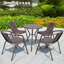 outdoor furniture outdoor furniture leisure furniture balcony chairs rattan chair rattan chair three wujiantao barbecue tables