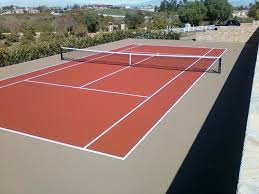 Post Tensioned Tennis Court Design Taylor Tennis Courts Builds Professional Tennis Court