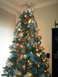 Blue Christmas Decorations Ideas Our Cute Blue  White Christmas Blue Christmas Tree Ideas
