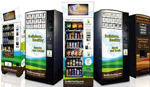 Eco Vending Machine Mesmerizing HUMAN Healthy Vending Machines Fight Childhood Obesity By Offering
