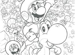 Coloring Pages Mario Brothers Colouring Pages Free Coloring