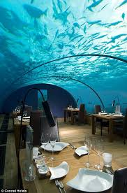 underwater restaurant disney world. ConradMaldivesIthaaUnderRest_HR.jpg Underwater Restaurant Disney World