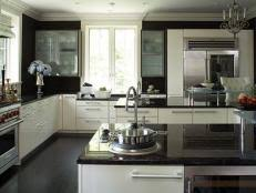 white kitchen cabinets with granite countertops. Dark Granite Countertops White Kitchen Cabinets With R
