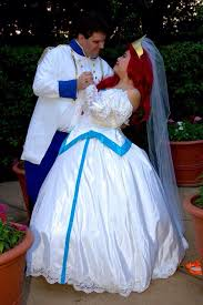 Small Picture Ariel and Eric Wedding Cosplay 2 by princxtanya on DeviantArt