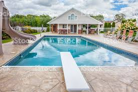 inground pools with diving board and slide. Inground Pools With Diving Board And Slide Beautiful Swimming Slides Boards For D