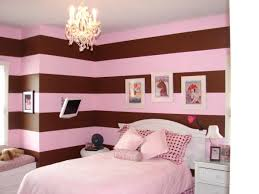 Pink & Brown Room for baby Sophia. I just love the pink and brown stripes