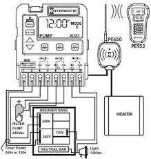 intermatic programmable pool timer mode applications circuits one and two are now coupled together making one circuit capable of switching the power source to one pump the on off button for circuit one now