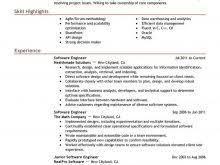 Top 10 Resume Formats For Engineering Freshers Free Resume