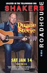 Duane Steele with guest Tim Isberg @ Shakers Roadhouse