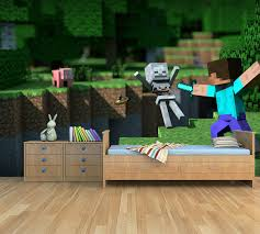 Kinderkamer Behang Minecraft Action Dielconl