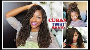 Freetress Color Chart Tutorial Styling W Freetress Equal Cuban Twist Hair