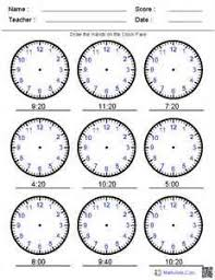 Year 6 mental maths worksheets | Maths Worksheets For kidsTell the time