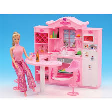 Barbie furniture for dollhouse Goldlok Miniature Furniture Dreamy Rose Kitchen For Barbie Doll House Classic Toys For Girl Free Shipping Aliexpresscom Miniature Furniture Dreamy Rose Kitchen For Barbie Doll House