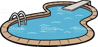 Vector Art Of An In Ground Swimming Pool Stock Vector Art More