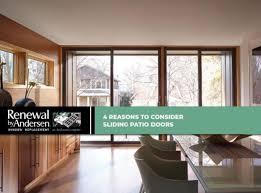 4 reasons to consider sliding patio doors