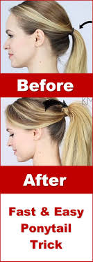Easy Hairstyles On The Go Best 25 Easy Ponytail Hairstyles Ideas On Pinterest Easy Hair