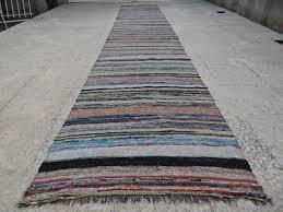 E Vintage Rag Rug Kilim RUNNER Bohemian Chic Cotton And Rag Rug Runner Uk
