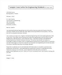 Mechanical Engineering Intern Cover Letter Cover Letter For Mechanical Engineering Internship Student