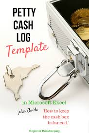 cash log template petty cash log know your petty cash procedures
