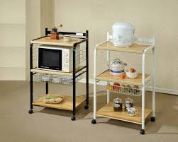 Ikea Kitchen Storage Cart Impressive Modern Ikea Kitchen Cart With Iron Cart Frames In White