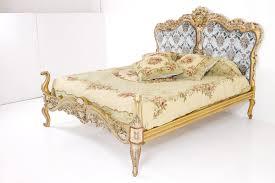 Luxus Schlafzimmer Set Gold Stil Antik Barock Rokkoko
