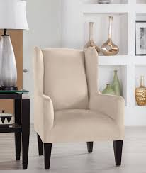 Amazon Com Tailor Fit Stretch Fit Micro Suede Slipcover Furniture Chair Slipcovers Amazon