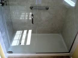 image of fiberglass shower base pan
