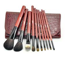 natural makeup brushes. get quotations · makeup brushes professional comestic set/kit hairup natural animal hair brush set/