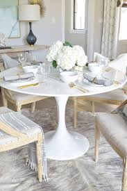 white table settings. White Tulip Table With Setting Settings A
