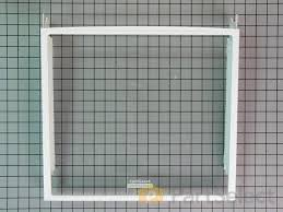 cantilever shelf with glass part number wp2223288
