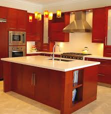 kitchen island with sink and dishwasher wall mount frosted glass door cabinets wrought iron hanging pot